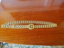 """Vintage Yves Saint Laurent Gold Chain Belt 32"""""""