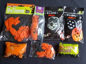 Halloween Accessories - Halloween Balloons Plain and Printed