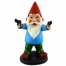 "Outdoor Statues Funny Guy Mugs Combat Gnome Home "" Kitchen"