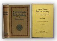 Janssen Friedrich Leopold Graf zu Stolberg 1882 Geschichte Entwicklung Kirche xy