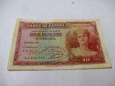 SPANIEN - DIEZ PESETAS 1935  A 4.406.046 gut erhalten