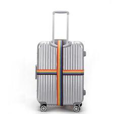 4x koffergurt Koffergürtel Kofferband Gepäck Gurt Kofferschloss