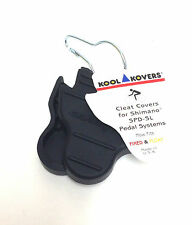 Kool Kovers Bike Pedal Rubber Cleat Covers fits Shimano SPD-SL