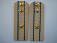 Russian Soviet Army Navy Shoulder Boards Straps Epaulets Naval Air Force USSR