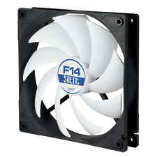 Arctic F14 Silencioso 140mm, 14cm 3-Pin PC Case Fan, muy tranquilo