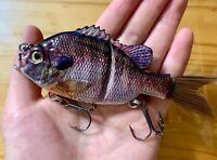 "5"" Bluegill Sunfish Perch Glide Swimbait 1.25 oz"