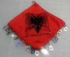new Albania eagle red handkerchief-dancing handkerchief-37.5 x 36 cm-awesome