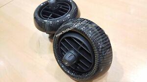 Mini F55, F56, F57 Cooper S Carbon fiber Interior Side Air Con Panels
