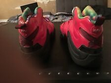 Adidas mens shoes size 14 chicago bulls red