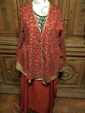 PRETTY FLORAL BLOUSE, BOHEMIAN,  QUIRKY. LAGENLOOK  XL