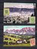 Osterreich 1922 Alte Postkarten Schladming/Ennstal/Obersteiermark nach Holland