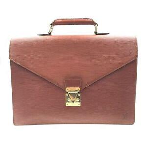 100% Authentic Louis Vuitton Epi Serviette Condeiller M54428 [Used] {09-204B}