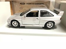 1992 Ford Escort RS Cosworth WRC Street Silver 1/18 Scale UT Models ONE OF KIND