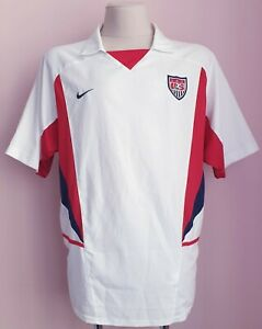 USA 2002 - 2003 Home football Nike shirt size XL