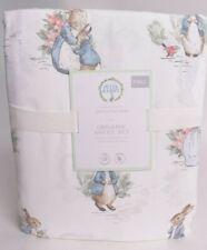 NWT Pottery Barn Kids Peter Rabbit Beatrix Potter Full organic sheet set