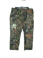 Mossy Oak Camo Cargo Pants 44-46 Men XXL New Side Waist Elastic