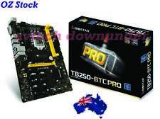 Biostar TB250 BTC Pro 12PCI-E 12GPU Ethereum BitcoinGodl Mining Rig Motherboard