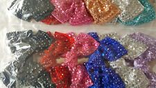 Joblot 12pcs Large Bow Design Sparkly hairclips hairgrips NEW wholesale Lot 6
