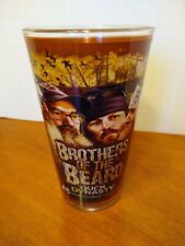 Duck Dynasty 2013 Collectible Beer Glass Brothers of the Beard 5.5 Inch tall