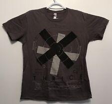 Thrice X Asterisk Band Music Gray Mens T Shirt Size Medium