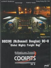 Cockpits - McDonnell Douglas DC-8 (DVD) 1980's Emery Worldwide DC-8-70 Series