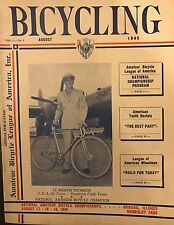 Super Rare Bicycling Magazine 1945. Great Stories, Ads, Awesome Condition