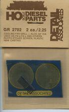 "Detail Associates HO GR 2702 Cooling Fan Grill - Alco 64"" Dia - NOS"