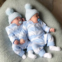 Newborn Baby Boy Long Sleeve Romper Bodysuit Jumpsuit Playsuit Outfits Christmas