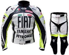 Combinaison de Moto en Cuir Hommes Courses Moto en Cuir Veste Pantalon 50