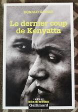 Donald Goines ✤ Le dernier coup de Kenyatta ✤ 2005