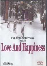 THOM PAXTON Love and Happiness DVD RARE OOP EXTREME SNOW BOARD SNOWBOARDING