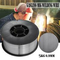 "Silver Gasless Flux-Cored MIG Welding Wire E71T-11 .030"" 10-lb 5kg 0.9mm Flux US"