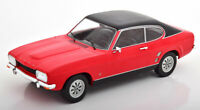 Model Car Group 18083 Ford Capri Mk1 1973 (Red/Black) 1:18 High Detail Model