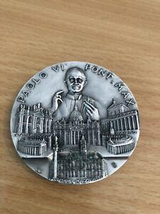 Papst Medaille Vatikan 1975 Papst Paul VI.