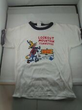 New listing vintage 1970's Paper Thin ringer t shirt Lookout Mountain Tennessee Hillbilly