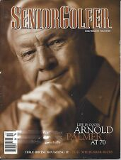 SENIOR GOLFER MAGAZINE SEPTEMBER OCTOBER 1999 ARNOLD PALMER AT 70