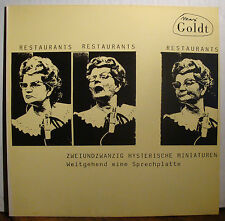 LP MAX GOLDT - Restaurants Restaurants Restaurants  1986/1990