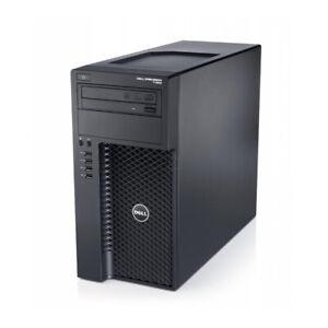 Dell Precision T1650 Tower I7 3770 3.4GHz 8GB 1TB DVDRW Win 10 PRO