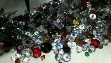 Crystal chatons mixed colors Crystal Splash Beadelle Collection