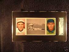 1912 T202 Hassan #98 Nearly Caught Bescher Bates SGC 40