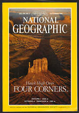 National Geographic September 1996 Hawks At Four Corner