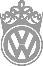 VW Queen Vinyl Decal Sticker Euro VAG Golf Jetta GTI GLI MK1 MK2 MK3 MK4 MK5 MK6