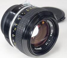 NIKON K pre-Ai 50 mm 1.4