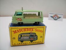 Matchbox 1-75, Nr. 21C, Commer Milk Delivery Truck, 1961