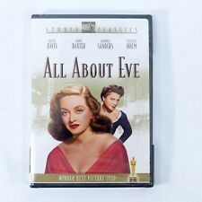 All About Eve (Studio Classics Dvd, 2002) Bette Davis Anne Baxter New Sealed
