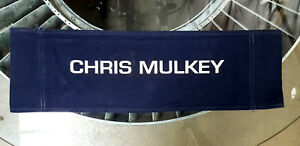 Ghost In The Machine ('93) Canvas Seat Back Made for Chris Mulkey - Actor