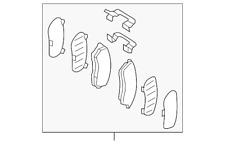 Genuine Subaru Brake Pads 26296AL000