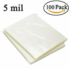 100 Pack Clear Letter Size Thermal Laminating Pouches 9 X 115 Inch Sheets 5 Mil