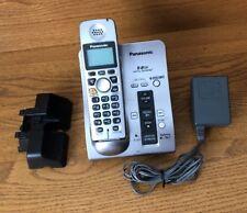 Panasonic Cordless Phone System 5.8 Ghz Kx-Tg6051M w/ Digital Answering System