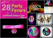 Trolls B -28 Party Favors-  Kids Birthday Prize Toys Supplies Grab Bag  Pinata